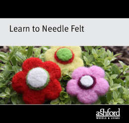leanr to needle felt