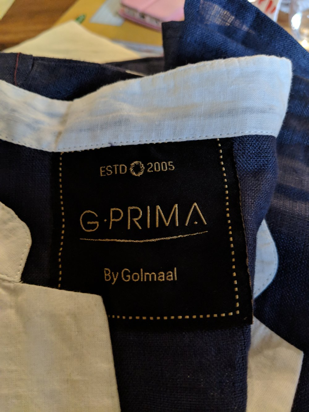 G. PRIMA Labels  - Our Premium label is the G.Prima label and its really a super-stylish product. Our Premium line is for a discerning customer, looking for CUSTOM design and personalised fitting sessions. Call today for our PREMIUM service