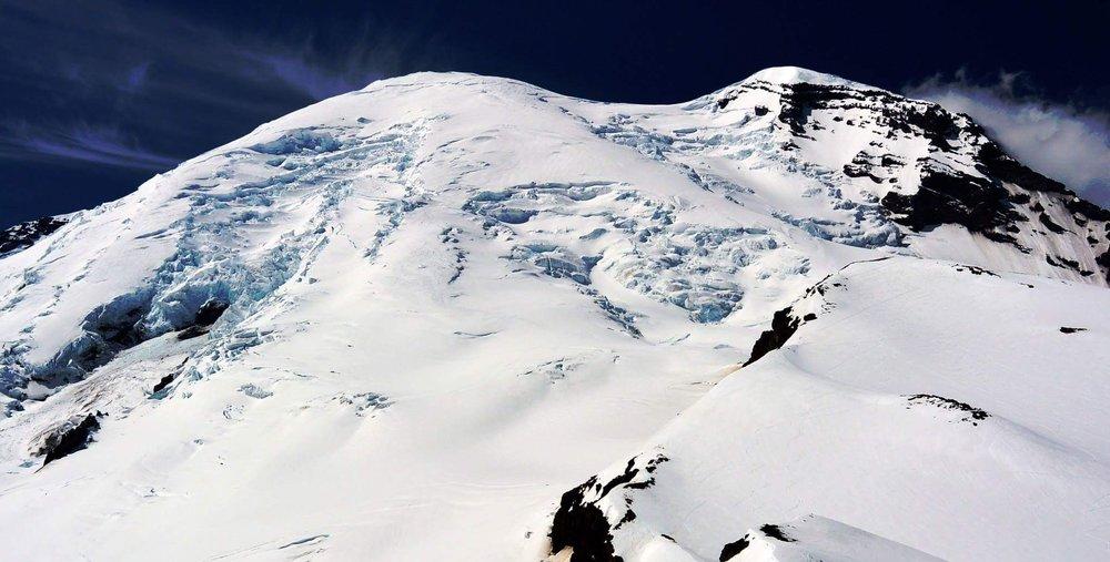 Emma, Ryan, and Farzana will climb Mt. Rainier this summer