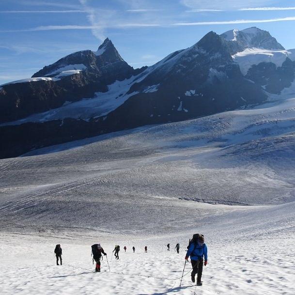Suisse - Glacier de Findelen près de Zermatt.
