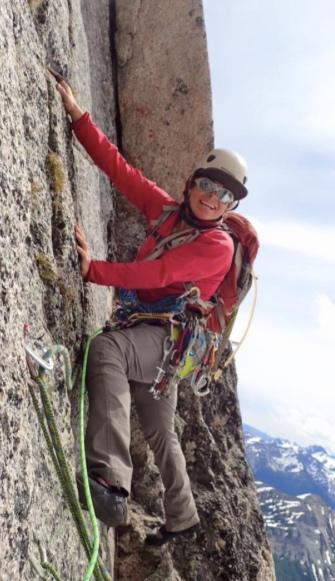 """<b>Cecelia Mortenson</b><br><font size=""""1"""">Mountain Guide, Co-Founder Girls on Ice Canada</font>"""