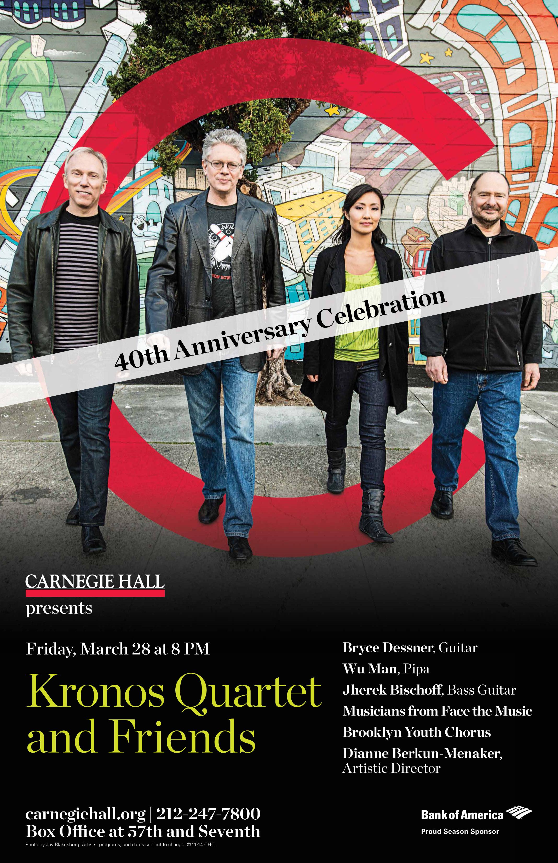 Kronos at 40 poster