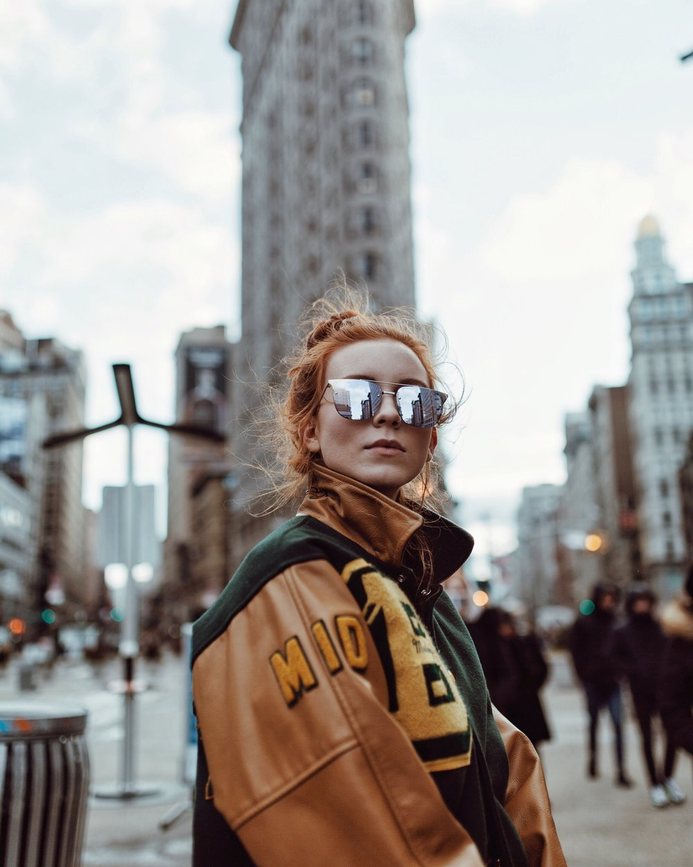 Quay Sunglasses // Vintage Jacket