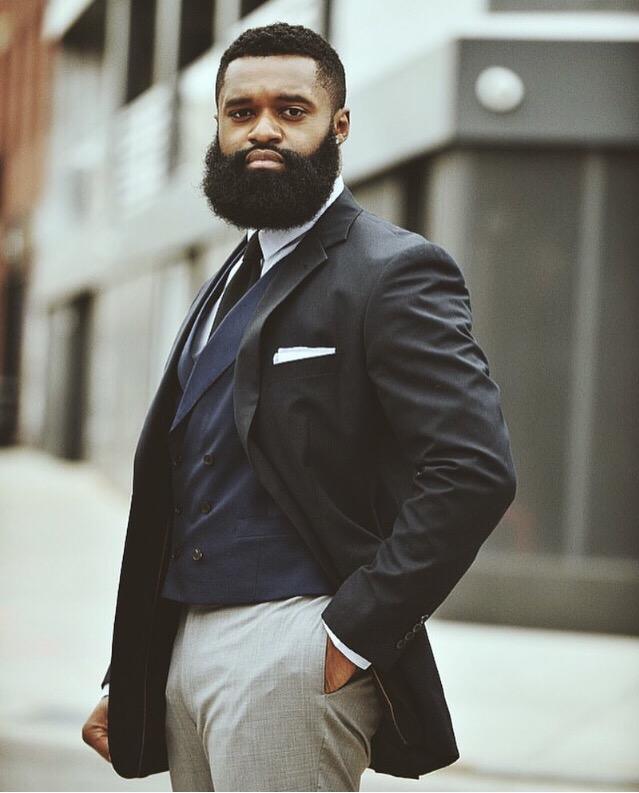 Bearded Dapper Gent:  Terrance Henderson , Photography by  Collis Torrington