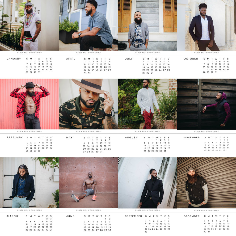 BMWB 2018 Calendar