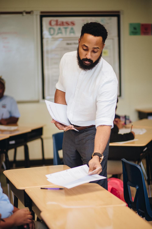 Mr. Clark  New Orleans, LA  Grade Level: 6th  Tenure: 5 years
