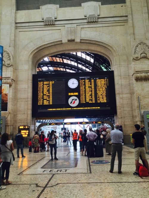 Milano Centrale Railroad Station