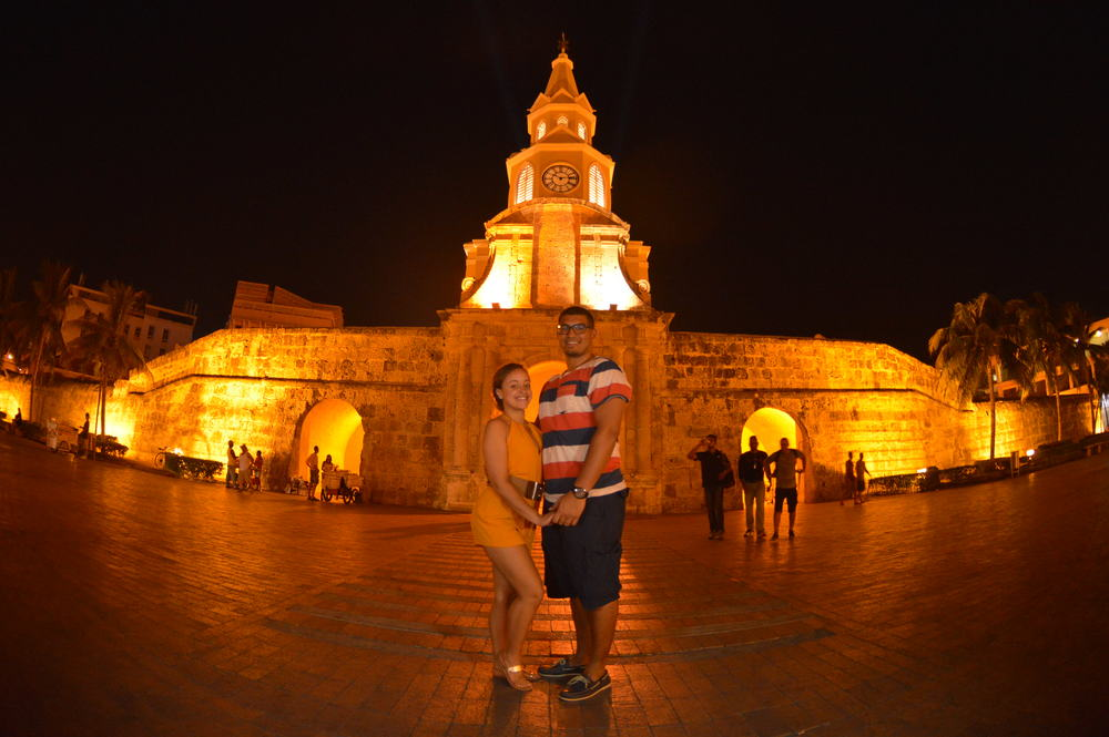 Luminous nights in Cartagena!
