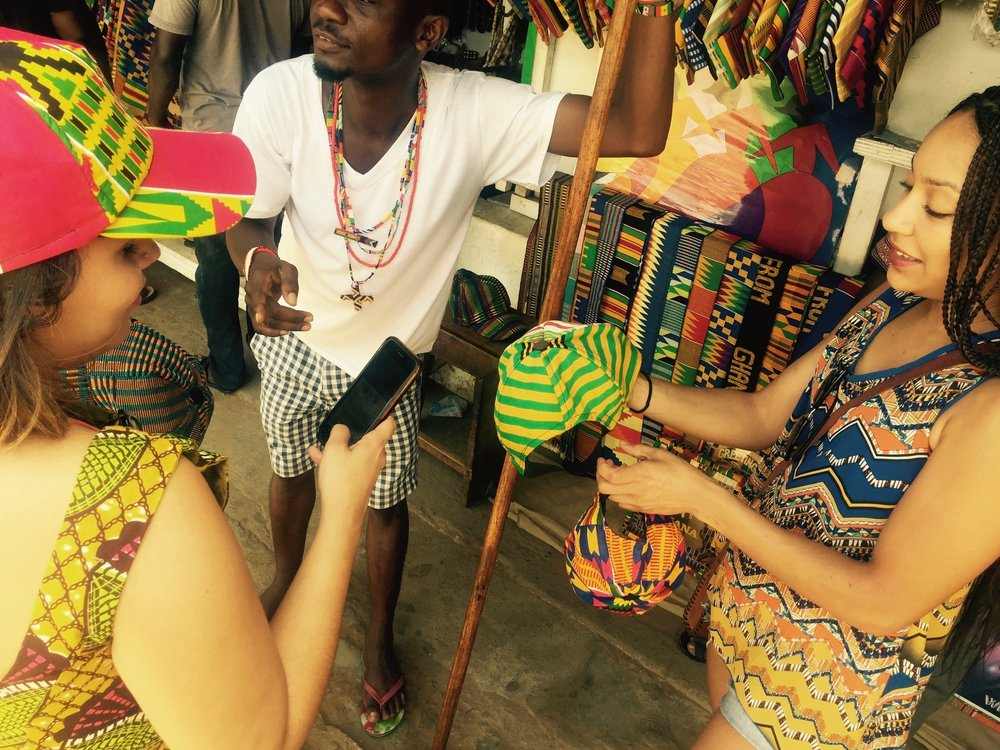 Negotiating at the Arts Centre-- Accra, Ghana
