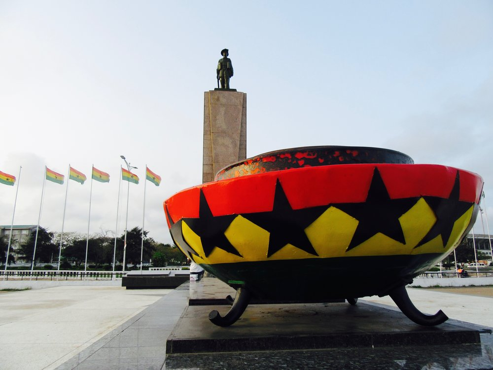 7 Places to Visit in Ghana-- Black Star Square