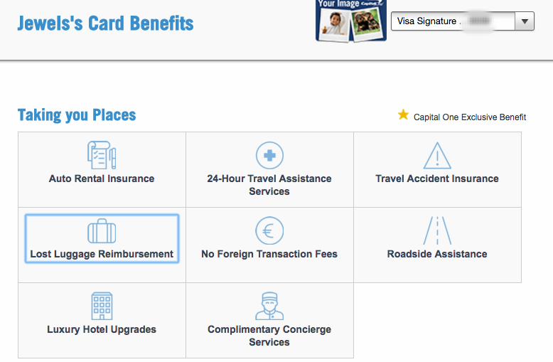 Overview of my travel-related benefits with my VentureOne card.