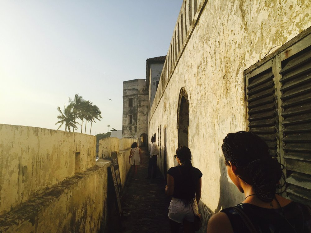 Touring the Elmina Castle, which stripped 30,000 people per year for 300 years away from their land. Being in the same space as my ancestors was a chilling experience and one of my highlights of 2016.