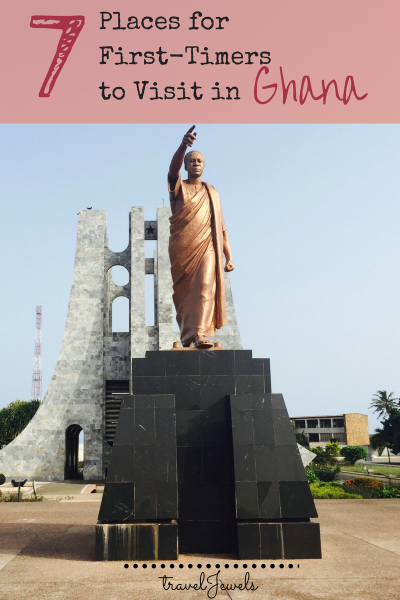 7 Places for First Timers to Visit in Ghana