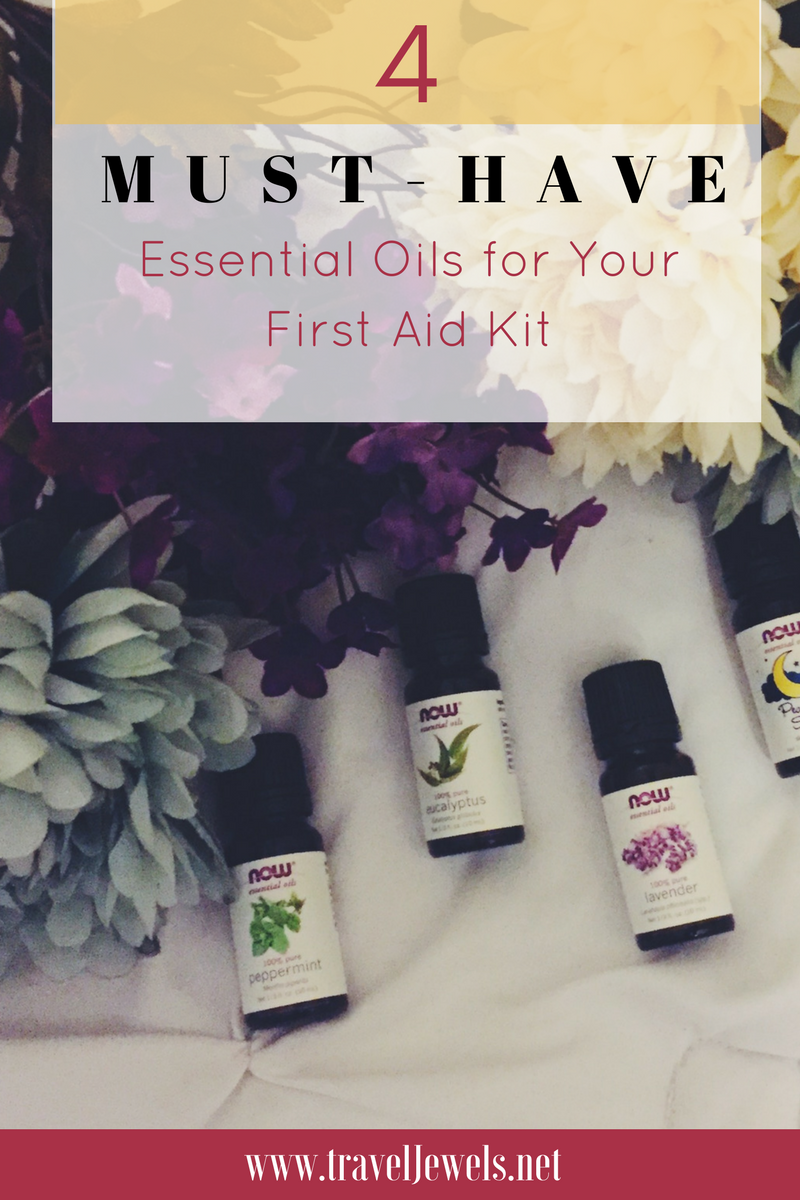 4 Must-Have Essential Oils for your first Aid Kit