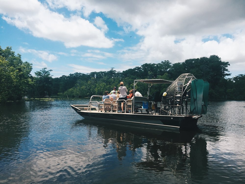 Swamp Tour Airboat