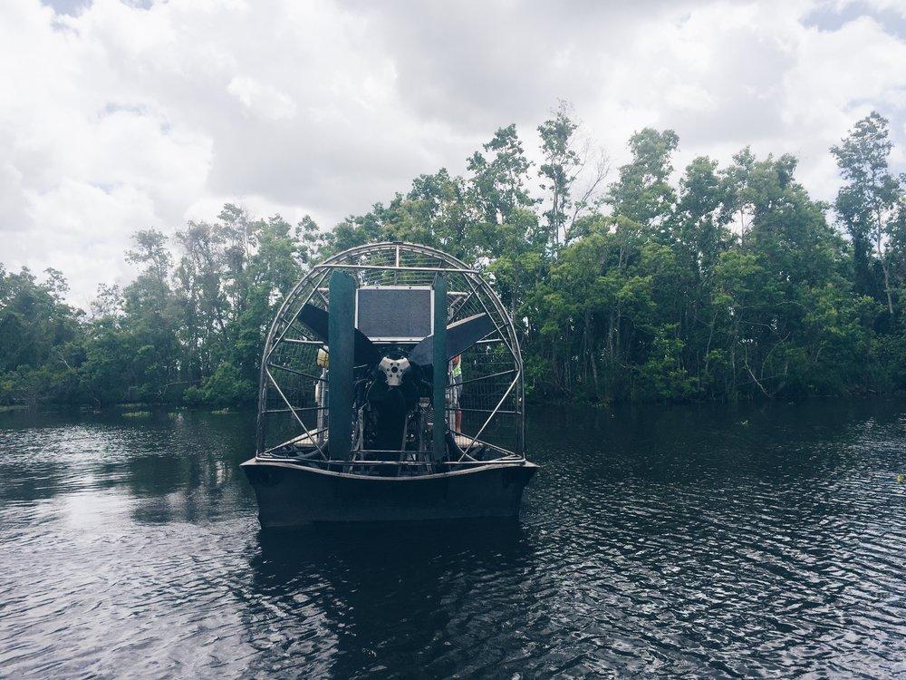 Swamp Tour Boat