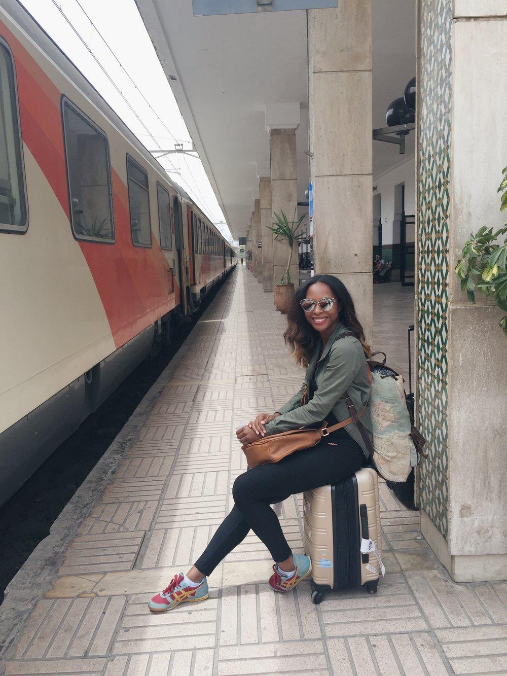 Train Station in Casablanca