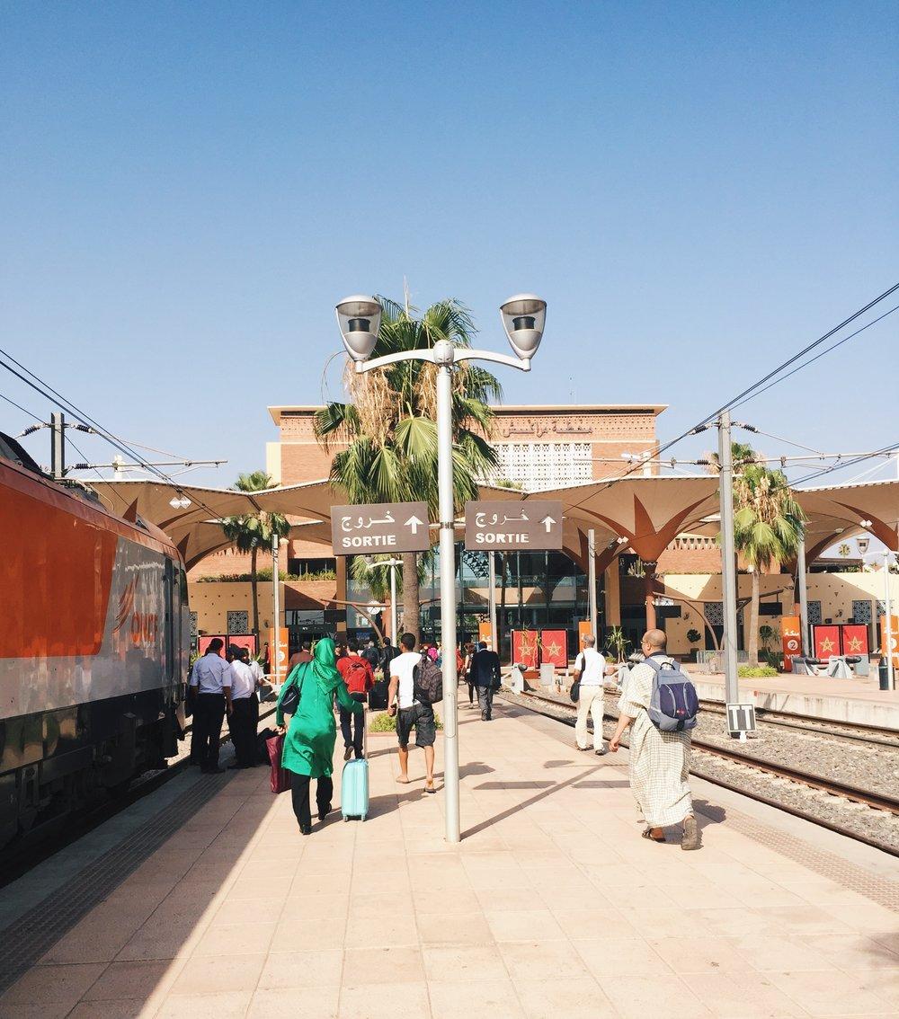 Train Station in Marrakech