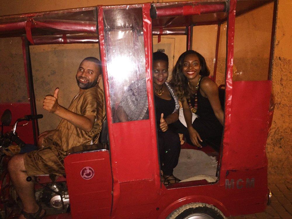 Tuk Tuk Ride in Marrakech