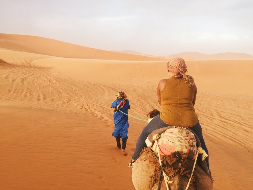 Adventure in the Sahara Desert