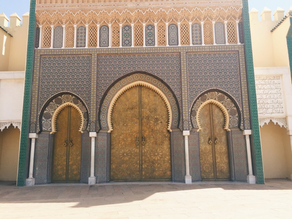 Palais Royale / Royal Palace in Fes, Morocco