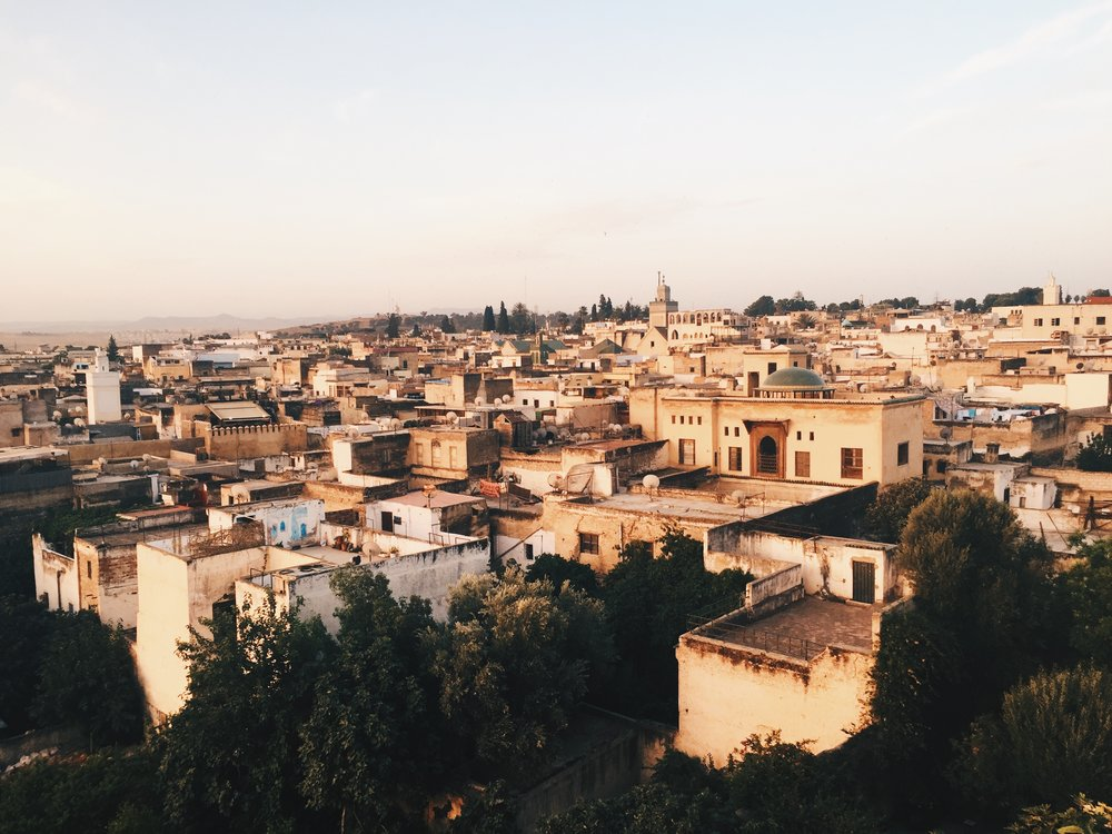 Sunrise in Fes, Morocco