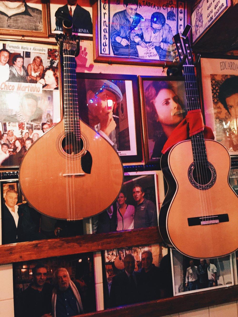 Fado show at Tasco do Chico