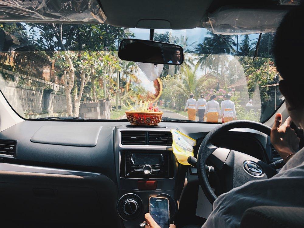 Private Car Hire in Bali