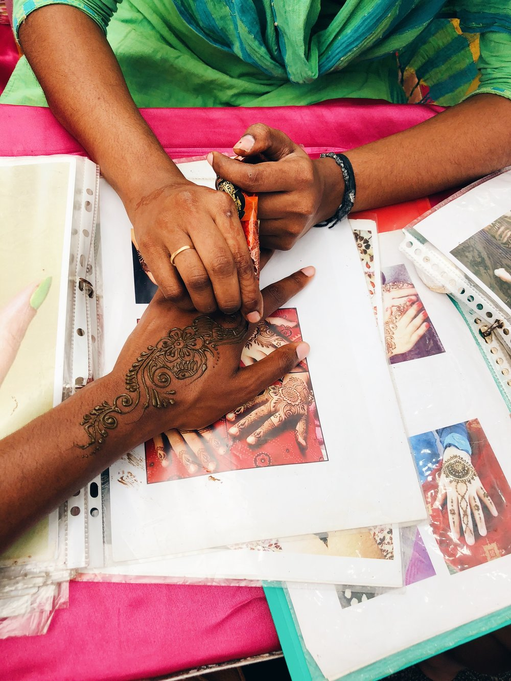 Henna in Singapore