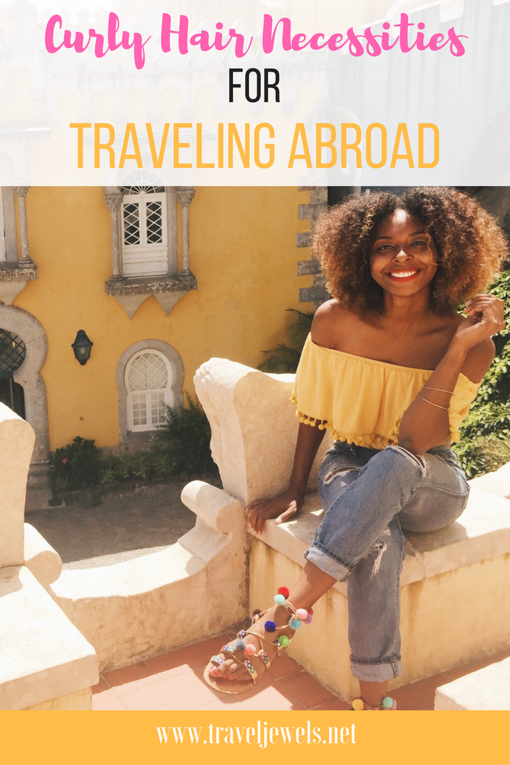 Curly Hair Necessities for Traveling Abroad