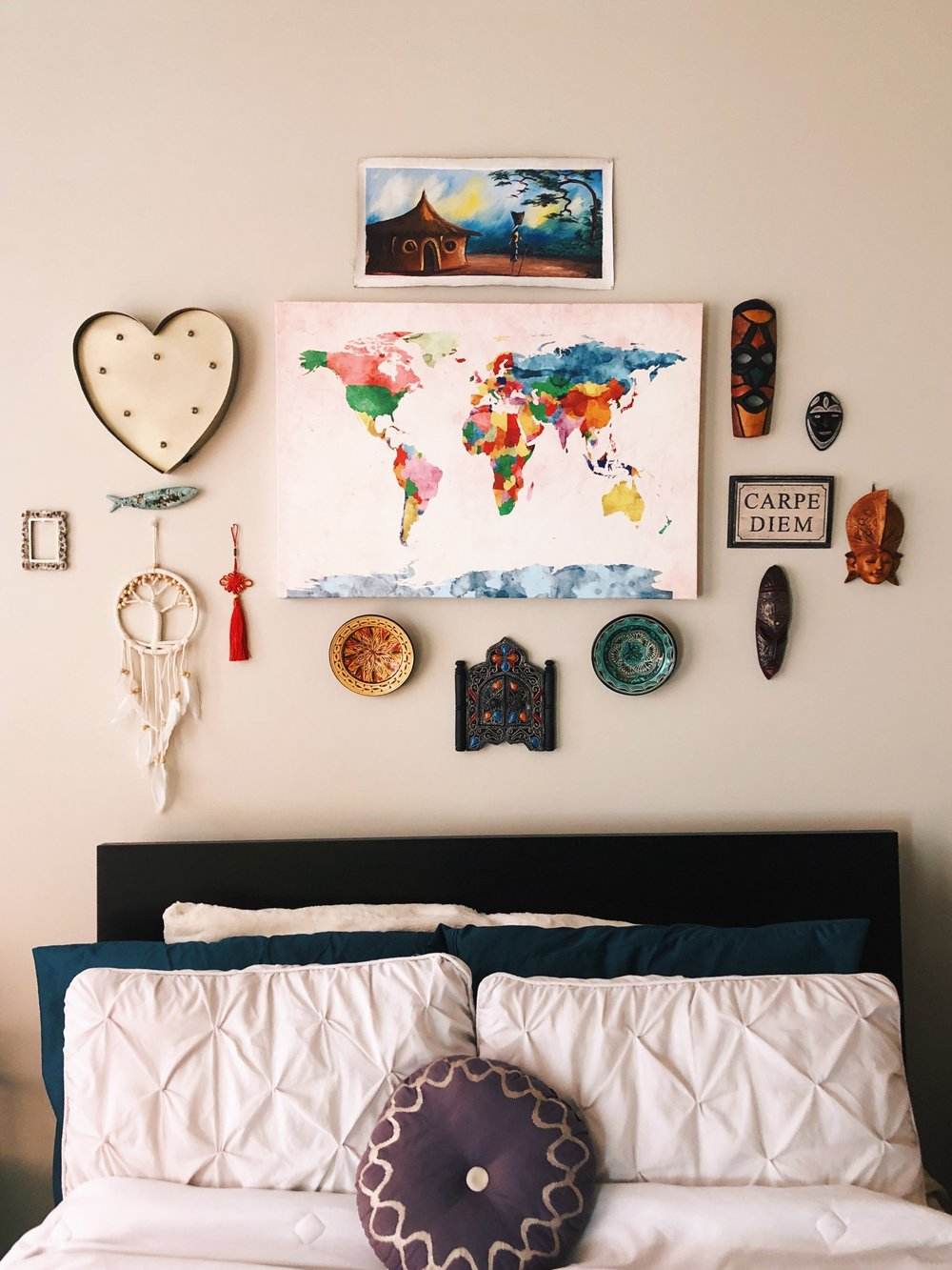 Travel Inspired Gallery Wall