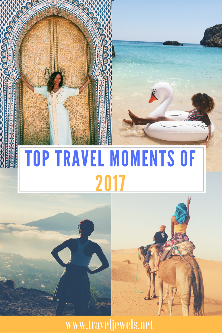 Top Travel Moments of 2017