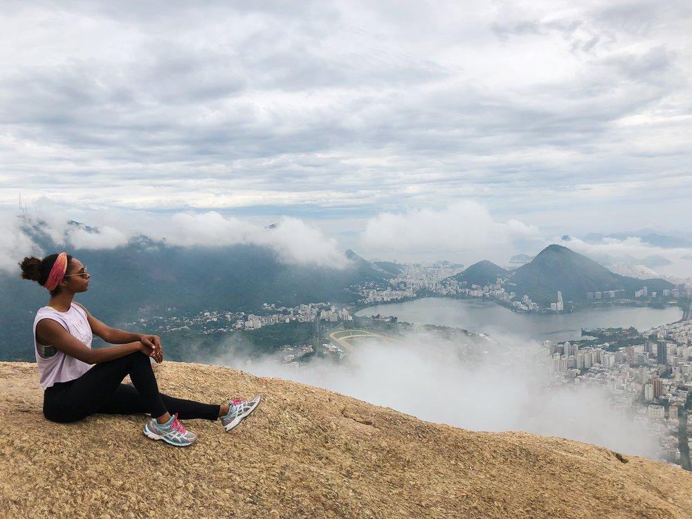 Morro Dois Irmãos Peak
