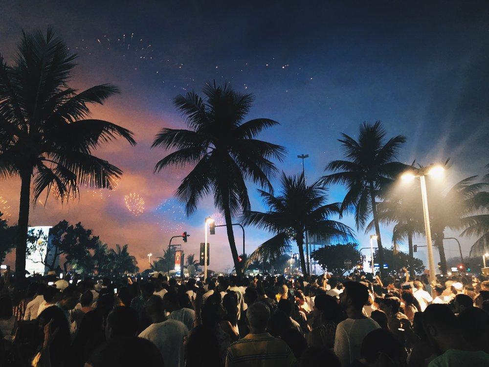 NYE Celebration in Rio de Janeiro
