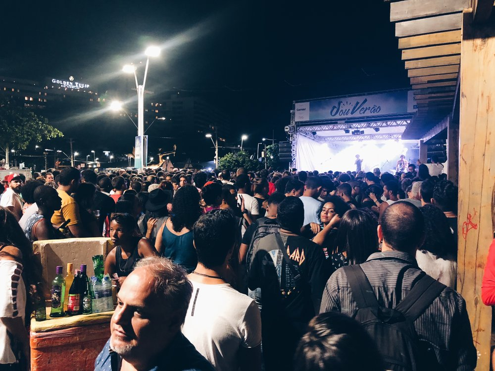 Concert at Largo da Mariquita.