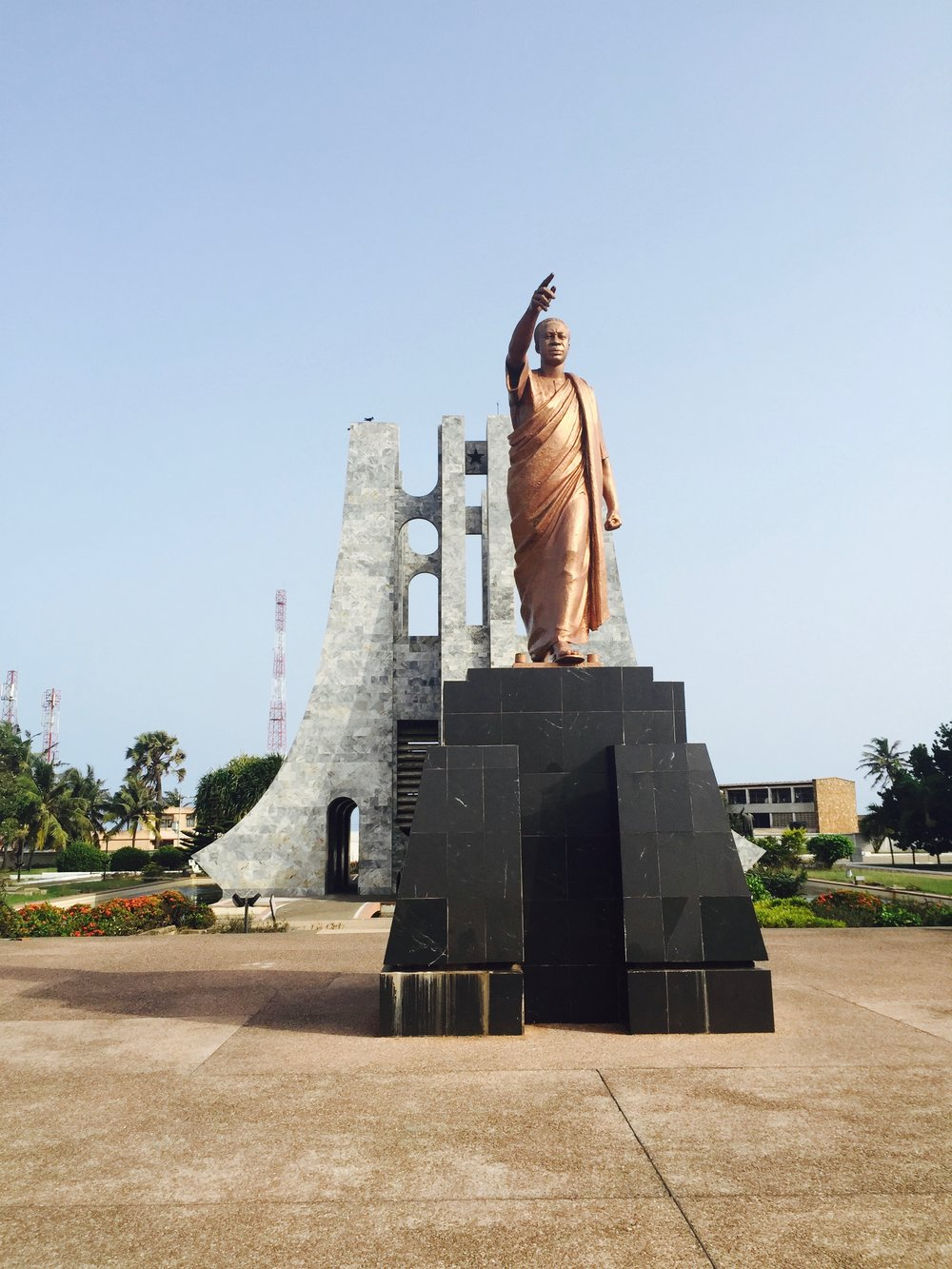 Kwame Nkrumah Memorial Park in Accra