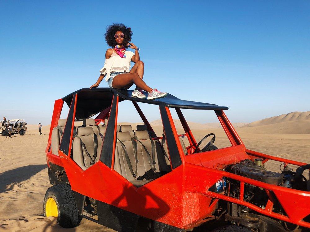Huachachina dune buggy tour