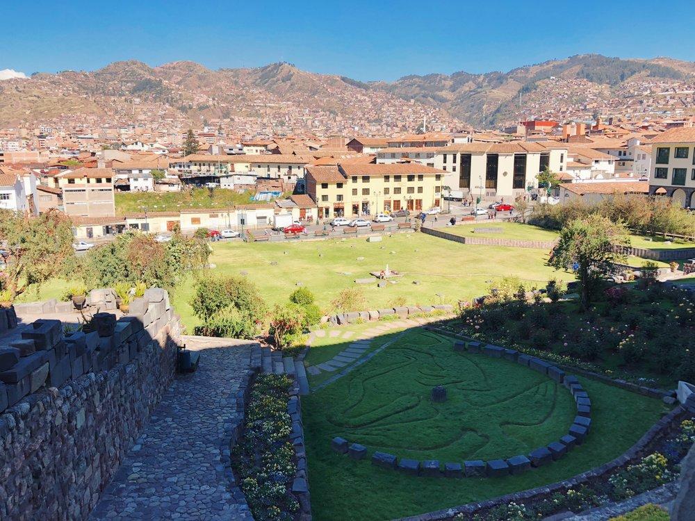 Temple of the Sun in Cusco