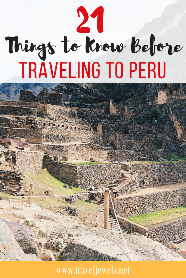 21 Things to know before traveling to Peru