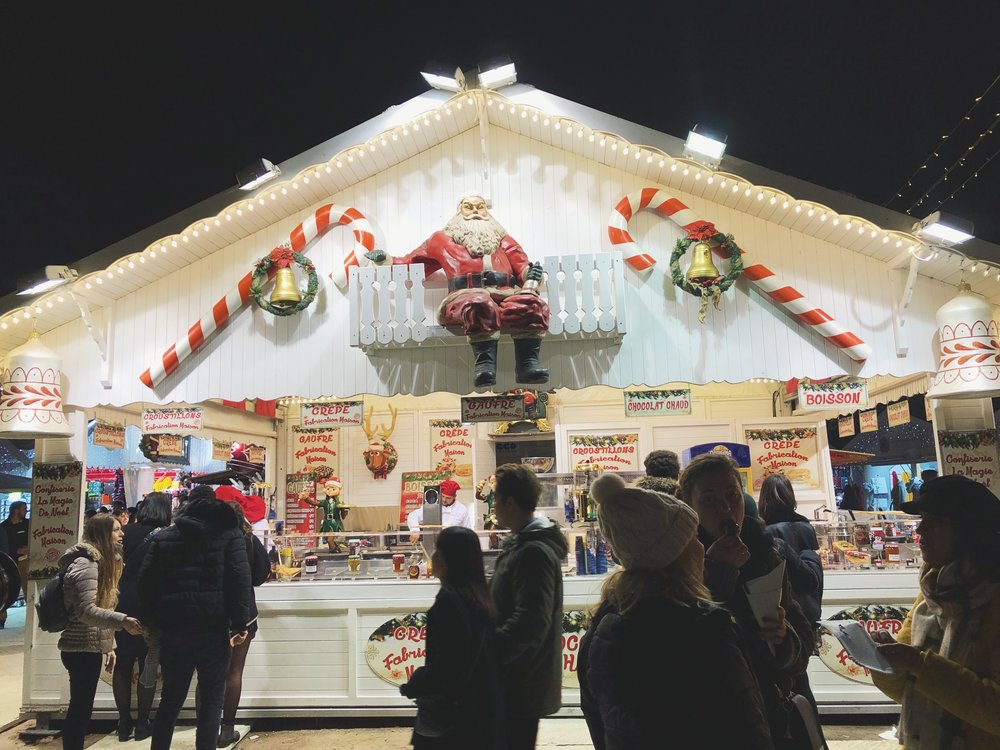 Guide to Visiting Paris in November- Christmas Markets in Paris