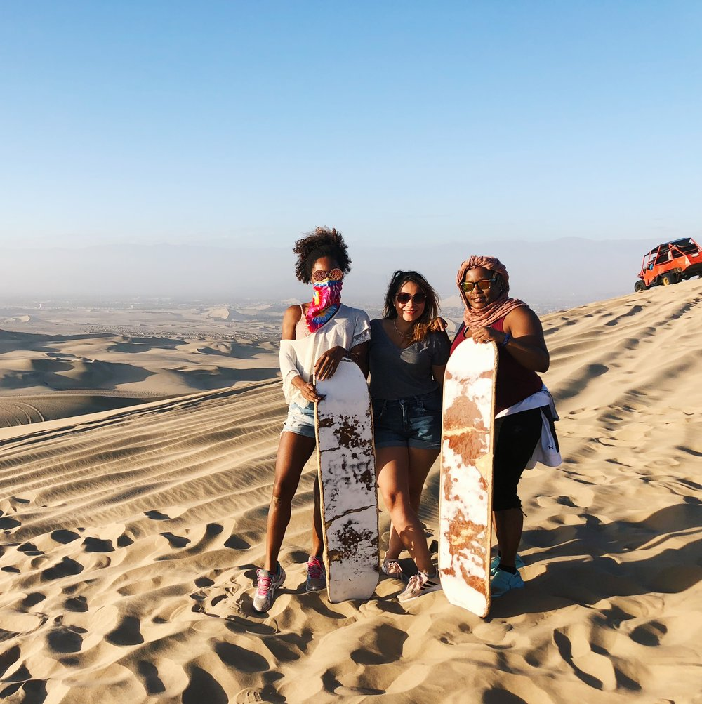 12 Top Travel Moments of 2018- Sandboarding in Huachachina