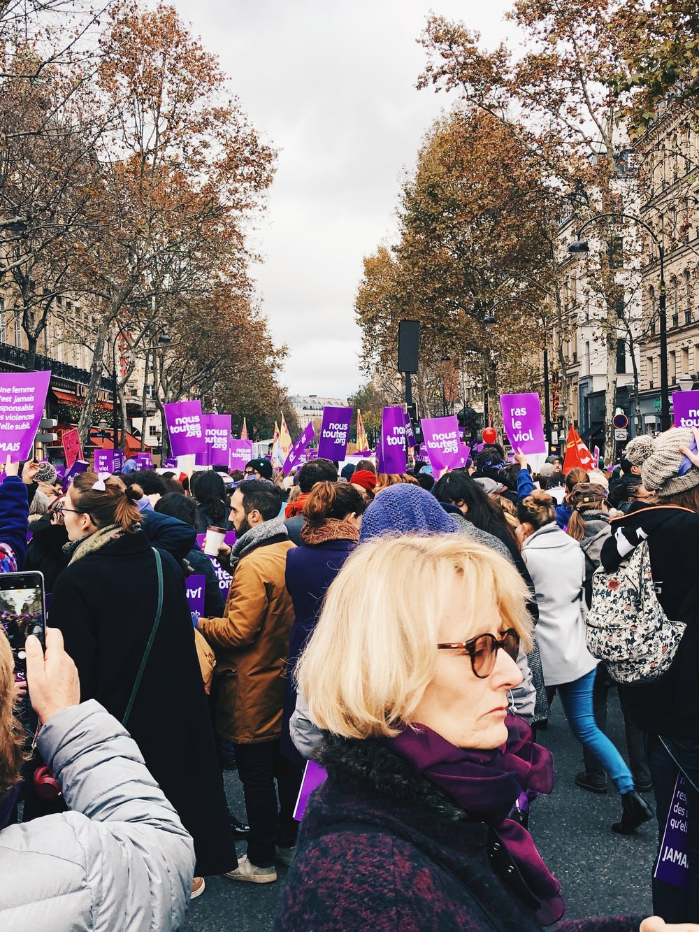 12 Top Travel Moments of 2018- Women's March in Paris