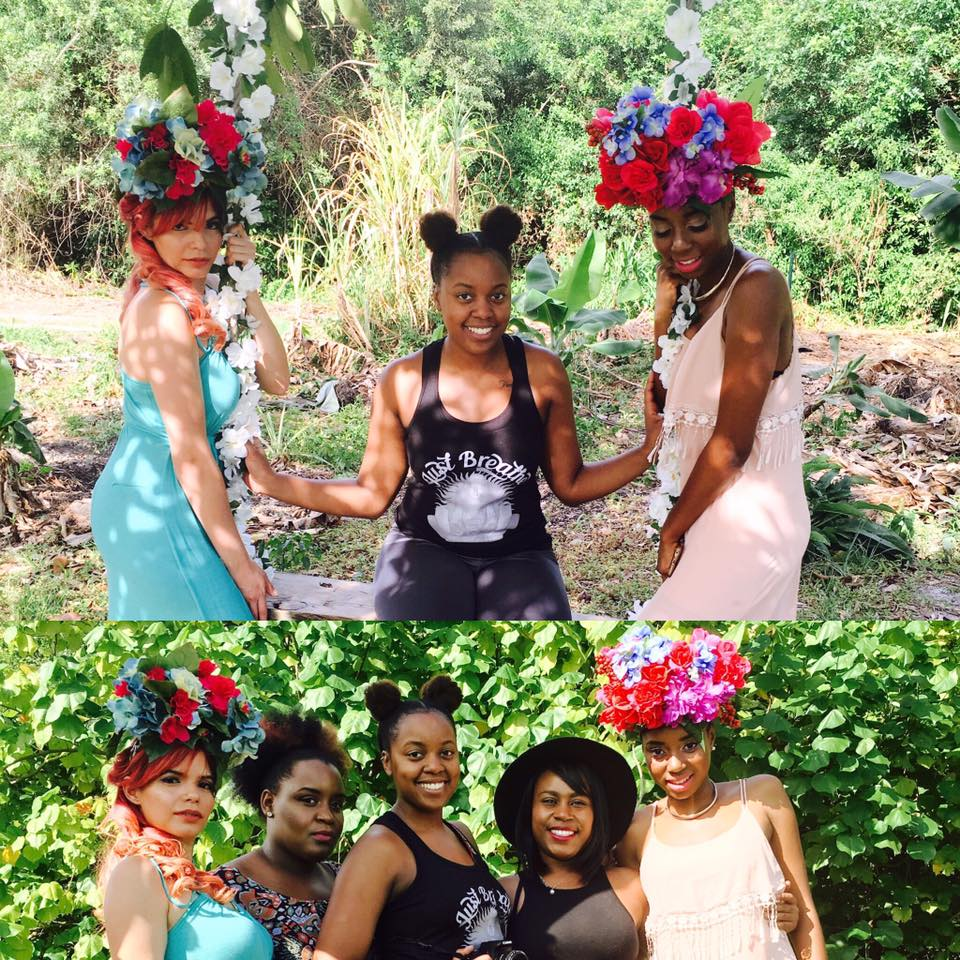 Bottom pic (left to right) Model Noralice, MUA Rochiani, Me(Photographer), Hairstylist Kay, Model Tyjai.
