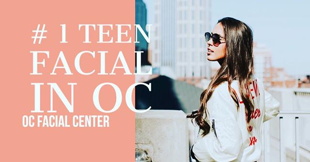 Let us take care of your teenager's skin ❤️