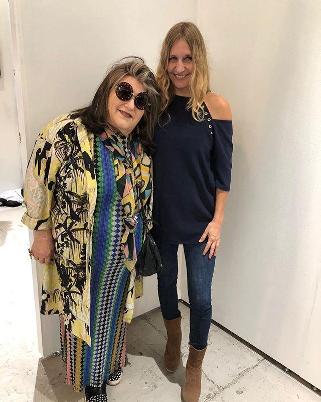 With Julie Weiss at The Other Art Fair#Art#theotherartfairla #artist