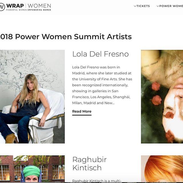 Thank you Wrap Magazine for inviting me to participate in such an amazing event. Wrap/Women. Power Women Summit- Nov 1&2, Los Angeles. www.wrapwomen.thewrap.com/artists @loladelfresno @haimtheband @senatorboxer @felicity.jones @lisalingstagram @milano_alyssa @emrata @mirasorvino #powerwomen2108 #WrapWomen#art #spain_inla