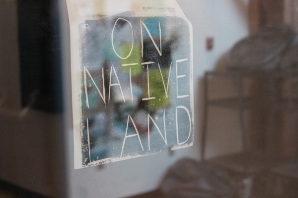 Raven John - On Native Land-instillation%2Fprint.jpg