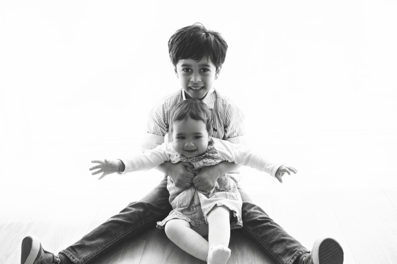 melbourne brother and sister baby photos