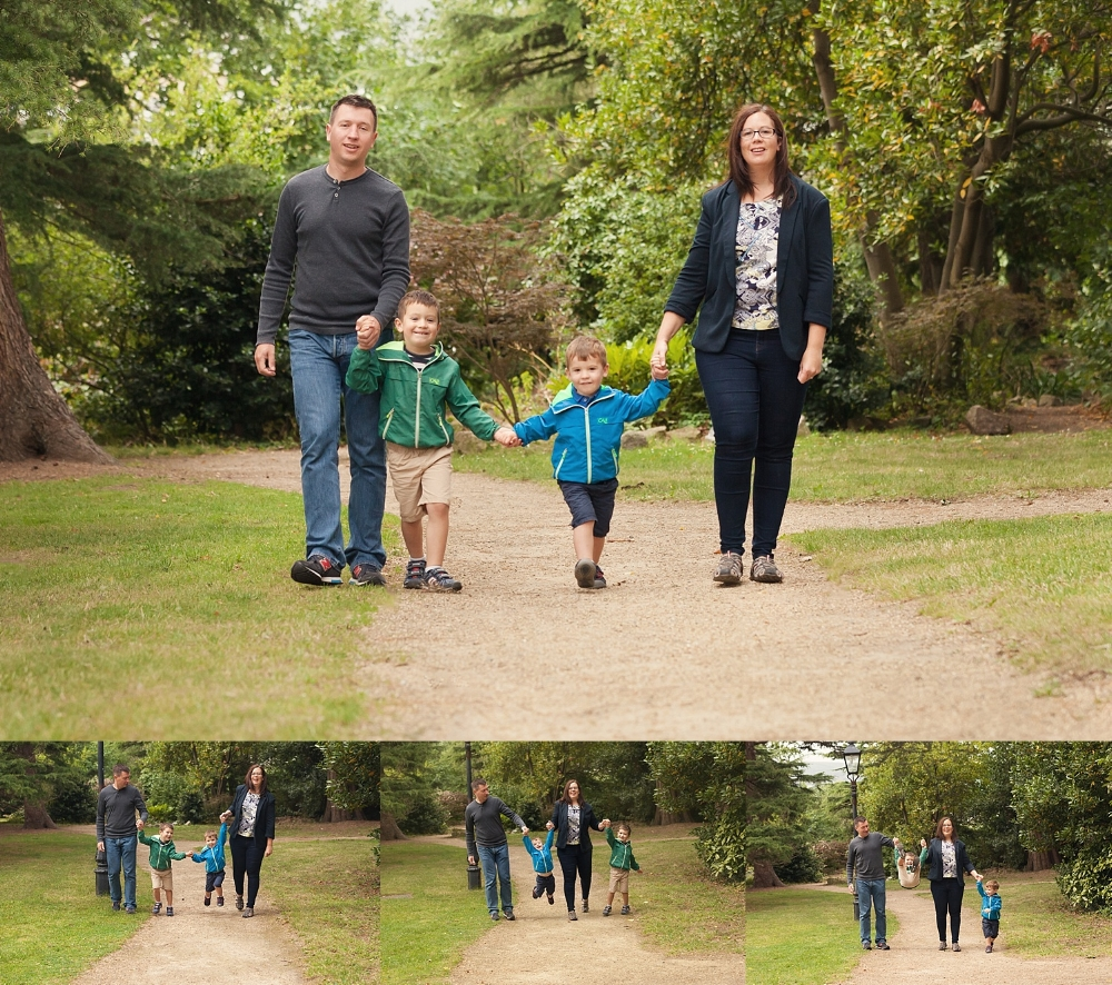 Family fun in the Dublin park