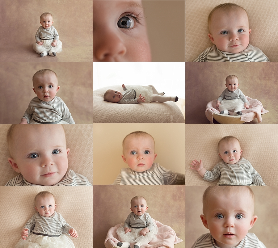7 month old baby girl melbourne photo shoot